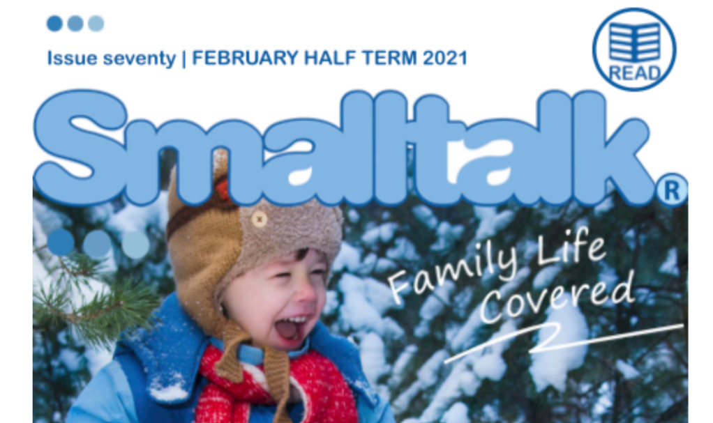 """Featured image for """"Small Talk Magazine – Feature on creating routines for home schooling"""""""